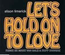 Alison Limerick-Let 's hold on to love-CD MAXI -