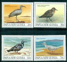 PAPUA NEW GUINEA 742-45 SG624-27 MNH 1990 Migratory Birds set of 4 Cat$10