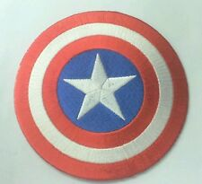 Captain America embroidered patch