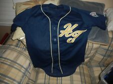 Hi Toms blue baseball jersey #2 sz 42 -  DSCN1326
