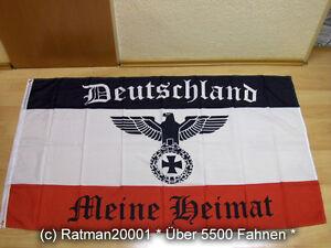 Flagge Deutsches Reich Deutschland Meine Heimat Reichsadler NEU - 90 x 150 cm