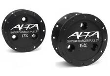 Alta 17% V2 Supercharger Pulley 02-08 Mini Cooper 1.6L Supercharged R52 R53