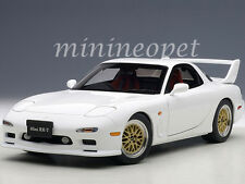 AUTOart 75967 MAZDA RX-7 (FD) TUNED VERSION 1/18 DIECAST MODEL CAR PURE WHITE