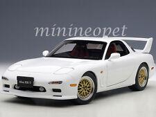 AUTOart 75967 MAZDA RX-7 (FD) TUNED VERSION 1/18 DIECAST MODEL CAR PURE WHITE