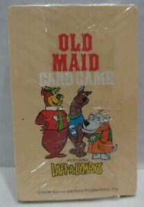 1979 Old Maid Card Game Laff-A-Lympics, Hoyle, SEALED Scooby Doo, Muttley, Yogi