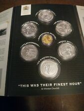 Their Finest Hour Silver Coin Collection Plus 9 Carat Gold Supermarine Spitfire