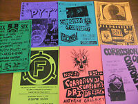 Corrosion Of Conformity Repo Concert Flyer Lot Inbred Dead Kennedys COC Napalm