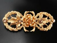 Czech VINTAGE ANTIQUE 1920's Pin Brooch #T131