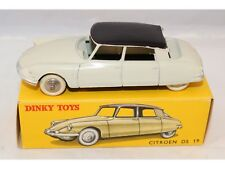Dinky Toys 24C 24 C Citroen DS 19 Ivory with aubergine 99.9% mint in box Superb