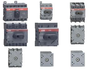 ABB Lasttrennschalter Lastumschalter OT 16 25 40 63 80 100 125 F3 F3C FT3 3P