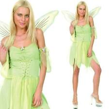 Ladies Fairy Tinkerbell Womens Costume Fancy Dress Outfit Fairytale Story Book