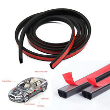 "Car Motor Door B-shape Rubber Seal Weather Strip Hollow 157"" 4M Weatherstrip US"