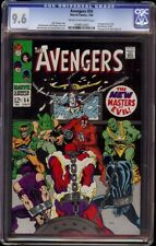Avengers # 54 CGC 9.6 CRM/OW (Marvel, 1968) 1st new Masters of Evil