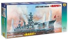 Zvezda 500789052 1-350 Sovietica WWII Corazzata Marat Giocattolo (ef2)