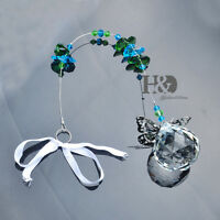 Handmade Rainbow Maker Crystal Suncatcher Prism Pendant Ornament Wedding Decor