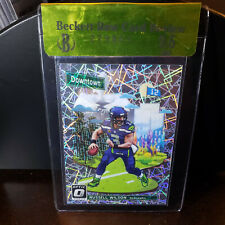 2018-19 Optic Downtown Russell Wilson BGS Raw 9.5 Seahawks