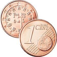 Pièces euros du Portugal pour 1 cent