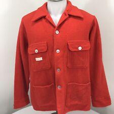 Mackinaw Chore Hunting Lumber Jacket Regent Vintage 60s Mens Large French Canada