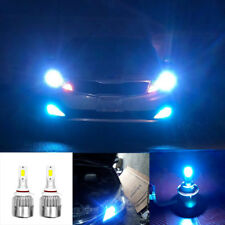 2X 9007 Ice Blue LED Headlight Kit Bulbs For Nissan Altima 2001-2000 Hi/Low Beam