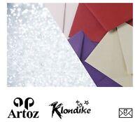 50 Artoz Papier Silky Kuverts DIN B6 130g Farben Briefumschläge