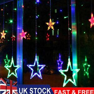 138LED Star Lights Fairy String Lights Outdoor Indoor Garden Home Room Decor