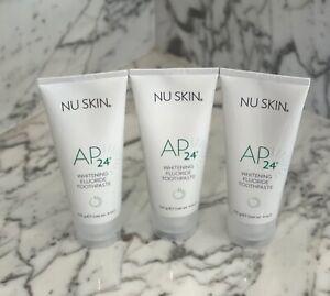 Nuskin Nu skin AP-24 Whitening Fluoride Toothpaste, 3 Tubes, Exp 2023