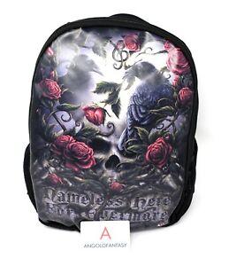 Rucksack Sorrow for the Lost Zaino Fantasy Nemesis Now Corvi Rose Teschi B0597B4