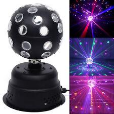 30W RGB Strobe Lamp Rotating Ball Led Stage Laser Lights KTV Disco Club Party US