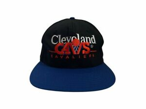 vintage twins cleveland cavaliers snapback hat cap adult OSFA deadstock NWT 90s