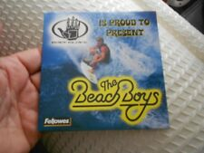 BEACH BOYS PROMO CD-BODY GLOVE PROUD TO PRESENT-2003 RELEASE-5 SONGS EXCELLENT