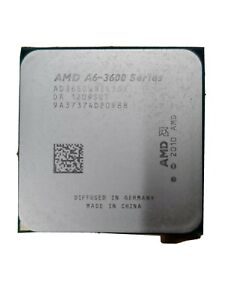 Amd A6-3600 Series AD3650WNZ43GX A6-3650 Quad-Core CPU Processor Socket FM1