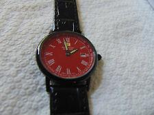 Steinhausen LW493LR Women's 30mm Dunn Horitzon Black Ion-Plated SS Watch L@@K!!!