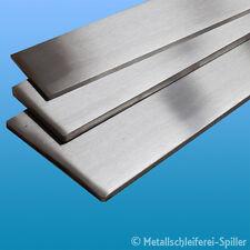 Edelstahl Flachstahl Band 80 x 8 mm L: 50 - 250 mm V2A geschliffen 1.4301