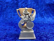 Motor cross Bike Scrambling Racing Award Winner Resin Trophy Bargain FREE eng.