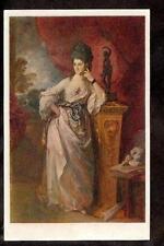 Art by Gainsborough Viscountess Ligonier Huntington Library/Gallery old postcard