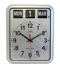 Grayson numérique Argent facile à lire Alzheimer's Dementia Calendrier Horloge -