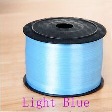 100 Yard Balloon Party Curling Silk Gifts Wrapping Ribbon Rolls Light Blue