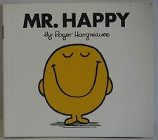 Mr Happy By Roger Hargreaves paperback 2003 VGC cute childrens story to read