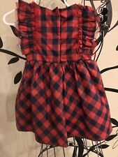 carters baby girl 12 months Checkers Dress