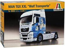 "Camión 1:24 ITALERI 3921: MAN TGX XXL "" Wolf TRANSPORTES"""