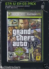 GTA IV EX-03 W/ Messenger w/Inline Headset PACK Xbox 360 GLOTECK New In Box NIB