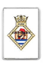 HMS SULTAN FRIDGE MAGNET