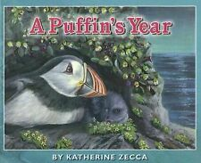 A Puffin's Year by Zecca, Katherine