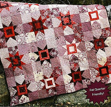 New Pieced Quilt Pattern Star Search 4 Sizes