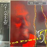RARE BOP JAZZ LP BUD POWELL 57 1975 HIFI JAPAN VERVE OBI MONO