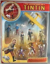 NEW! PLASTOY TINTIN Collection Snowy Small Figure Figurine Set F/Sw/tracking