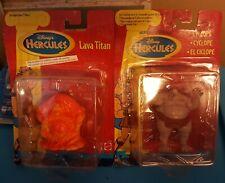 Disney Hercules Mattel Lava Titan and Cyclops
