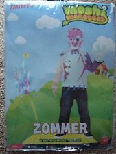 MOSHI MONSTERS 'ZOMMER' 7-9yrs BOYS COSTUME.