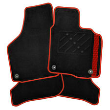 Peugeot 405 (1988 - 1997) Tailored Car Mats + Cube Stripe