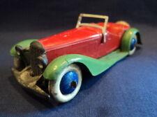 Dinky Toys 1930's Very Rare Pre-War Sports Tourer 2 Seater No: 24h Ex Superb WOW